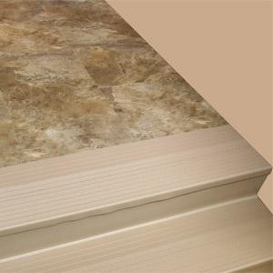 Marbleized Vinyl Floor Tiles