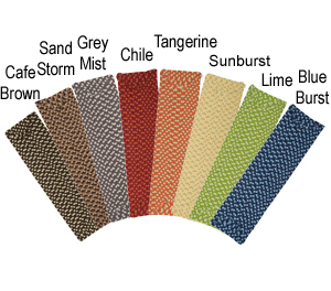 Outdoor Carpet Stair Treads - Multi-Color