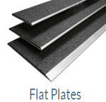 Grit Surface Floor Plates