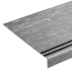 Smoothtread Stair Treads with Grit Tape Inserts: Medium Duty